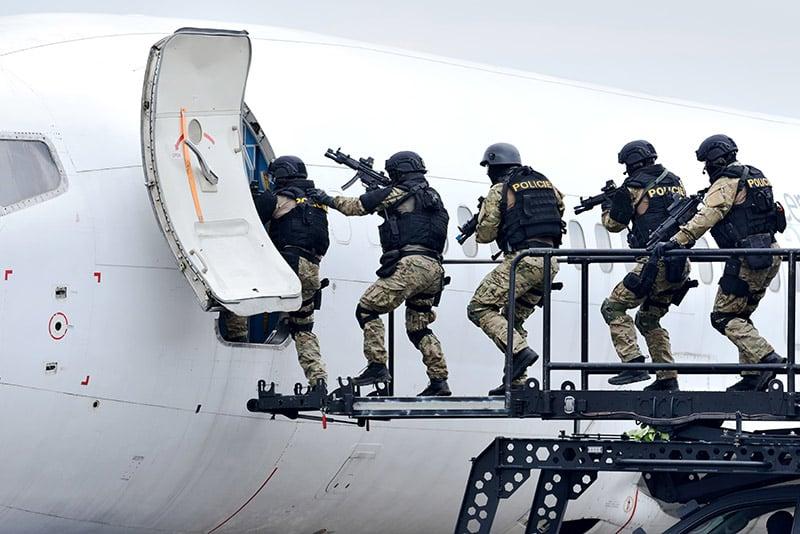 courtier en assurance sûreté terrorisme violences politiques