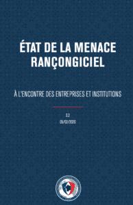 rançongiciel rapport ANSSI et cyberassurance
