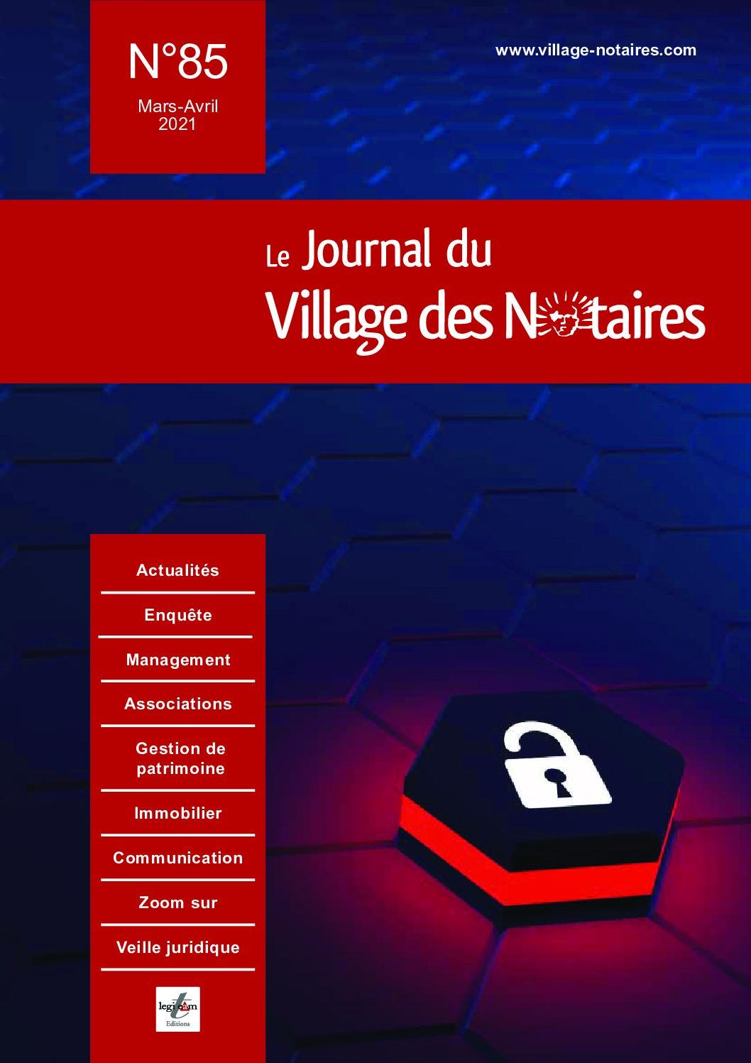 JVN-85-1-pdf Résilience, risque cyber et assurance : interview de RESCO Courtage (Village des Notaires)